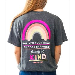 Kindness & Confetti Juniors Follow Your Heart T-Shirt