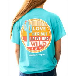 Kindness & Confetti Juniors Leave Her Wild T-Shirt