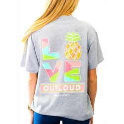 Kindness & Confetti Juniors Love Out Loud T-Shirt