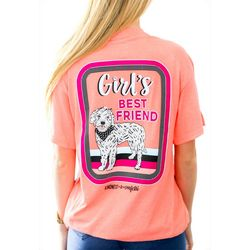 Kindness & Confetti Juniors Girl's Best Friend T-Shirt