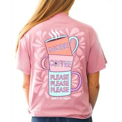 Kindness & Confetti Juniors Coffee Please T-Shirt