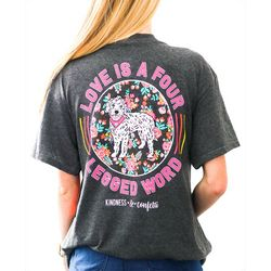 Kindness & Confetti Juniors Four Legged Word T-Shirt