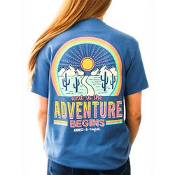 Kindness & Confetti Juniors Adventure T-Shirt