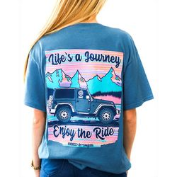 Kindness & Confetti Juniors Life's A Journey T-Shirt