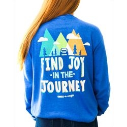 Kindness & Confetti Juniors Find Joy Long Sleeve Shirt
