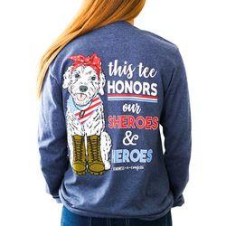 Kindness & Confetti Juniors Heroes Long Sleeve Shirt