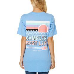 Jadelynn Brooke Juniors Camp Life Best Life T-Shirt