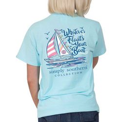 Simply Southern Juniors Whatever Floats Your Boat T-Shirt