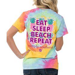 Simply Southern Juniors Eat Sleep Beach Repeat T-Shirt