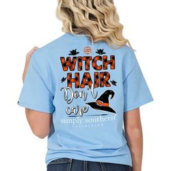 Simply Southern Juniors Witch Hair Don't Care T-Shirt