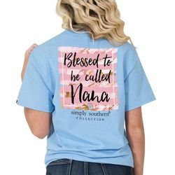 Simply Southern Juniors Blessed To Be Called Nana T-Shirt