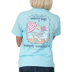 Simply Southern Juniors Barefoot + Happy T-Shirt