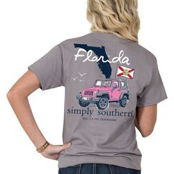 Simply Southern Juniors Florida Pride T-Shirt