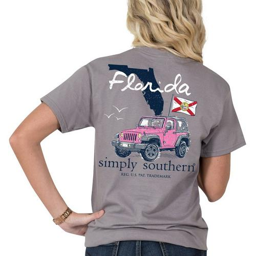 29d32349a0a Simply Southern Juniors Florida Pride T-Shirt