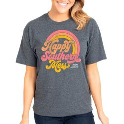 Simply Southern Juniors Vintage Happy Southern Mess T-Shirt