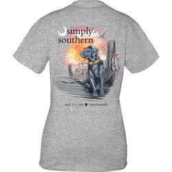 Simply Southern Juniors Beach Lab Dog T-Shirt