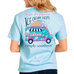 Simply Southern Juniors Ice Cream Helps T-Shirt