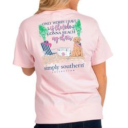 Simply Southern Juniors Plus Only Worry I Have T-Shirt
