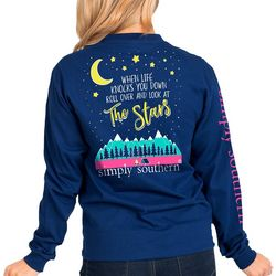 Simply Southern Juniors Stars Long Sleeve T-Shirt