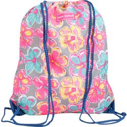 Simply Southern Juniors Floral Drawstring Backpack