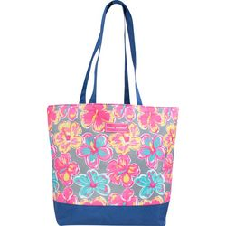 Simply Southern Juniors Floral Tote Bag