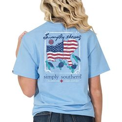 Simply Southern Juniors Simply Strong Americana T-Shirt