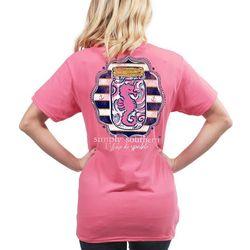 Simply Southern Juniors I Shore Do Sparkle T-Shirt