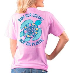 Simply Southern Juniors Save Our Oceans T-Shirt