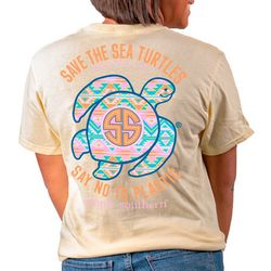 Simply Southern Juniors Save The Sea Turtles T-Shirt