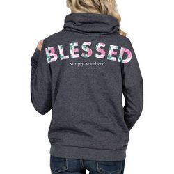 Simply Southern Juniors Blessed Hooded Sweatshirt