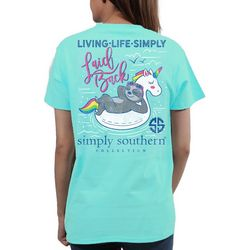 Simply Southern Juniors Living Life Simply Laid Back T-Shirt