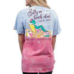 Simply Southern Juniors Salty Air Beach Chair T-Shirt