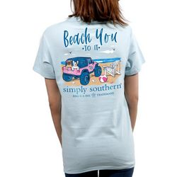 Simply Southern Juniors Beach You To It T-Shirt