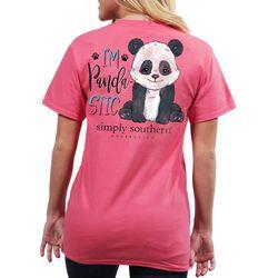Simply Southern Juniors I'm Panda-Stic T-Shirt