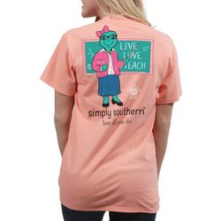 Simply Southern Juniors Live Love Teach T-Shirt