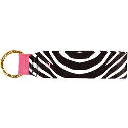 Simply Southern Zebra Print Keychain
