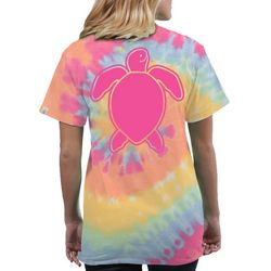 Simply Southern Juniors Tie Dye Turtle T-Shirt