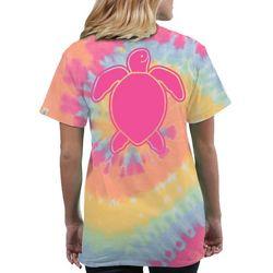 Simply Southern Juniors Tie Dye Turtle T-Shirt