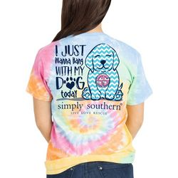 Simply Southern Juniors I Just Wanna Hang With My Dog Top