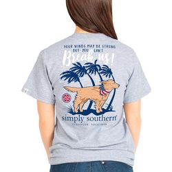 Simply Southern Juniors Wind Can't Break Us T-Shirt