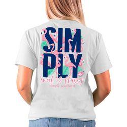 Simply Southern Juniors Sweet & Classy T-Shirt