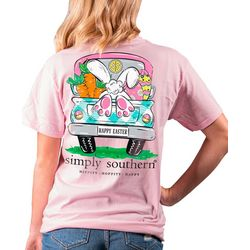 Simply Southern Juniors Happy Easter T-Shirt