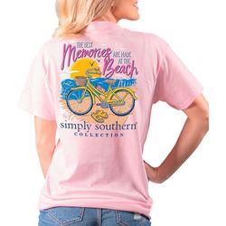 Simply Southern Juniors Memories At The Beach T-Shirt
