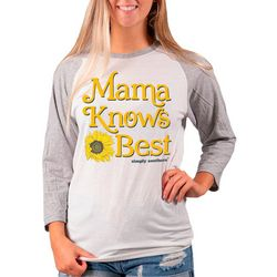 Simply Southern Juniors Mama Knows Best T-Shirt