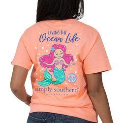 Simply Southern Juniors Living The Ocean Life T-Shirt