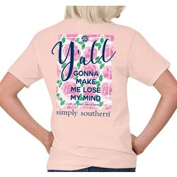 Simply Southern Juniors Make Me Lose My Mind T-Shirt