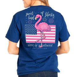 Simply Southern Juniors Sweet Land Of Liberty T-Shirt