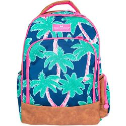 Simply Southern Juniors Palm Tree Print Backpack