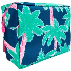 Simply Southern Palm Tree Print Cosmetic Bag