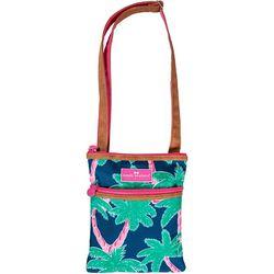 Simply Southern Palm Tree Print Crossbody Handbag